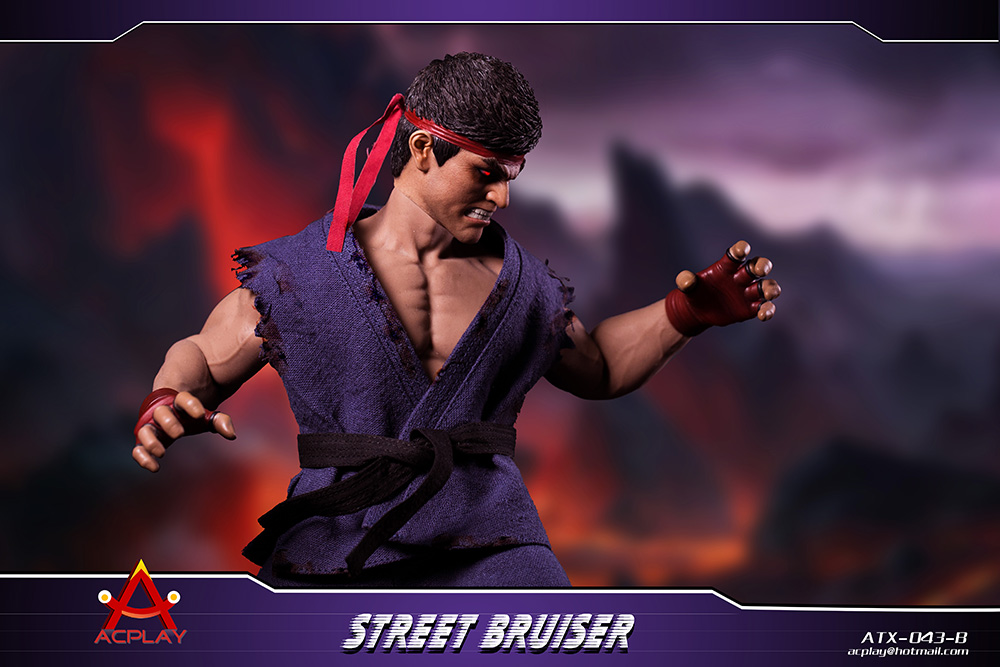 NEW PRODUCT: ACPLAY new products: 1/6 ATX043 Street Fighters practice martial arts A/B suit 11192610