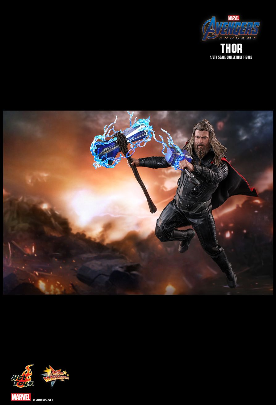 marvel - NEW PRODUCT: HOT TOYS: AVENGERS: ENDGAME THOR 1/6TH SCALE COLLECTIBLE FIGURE 11198
