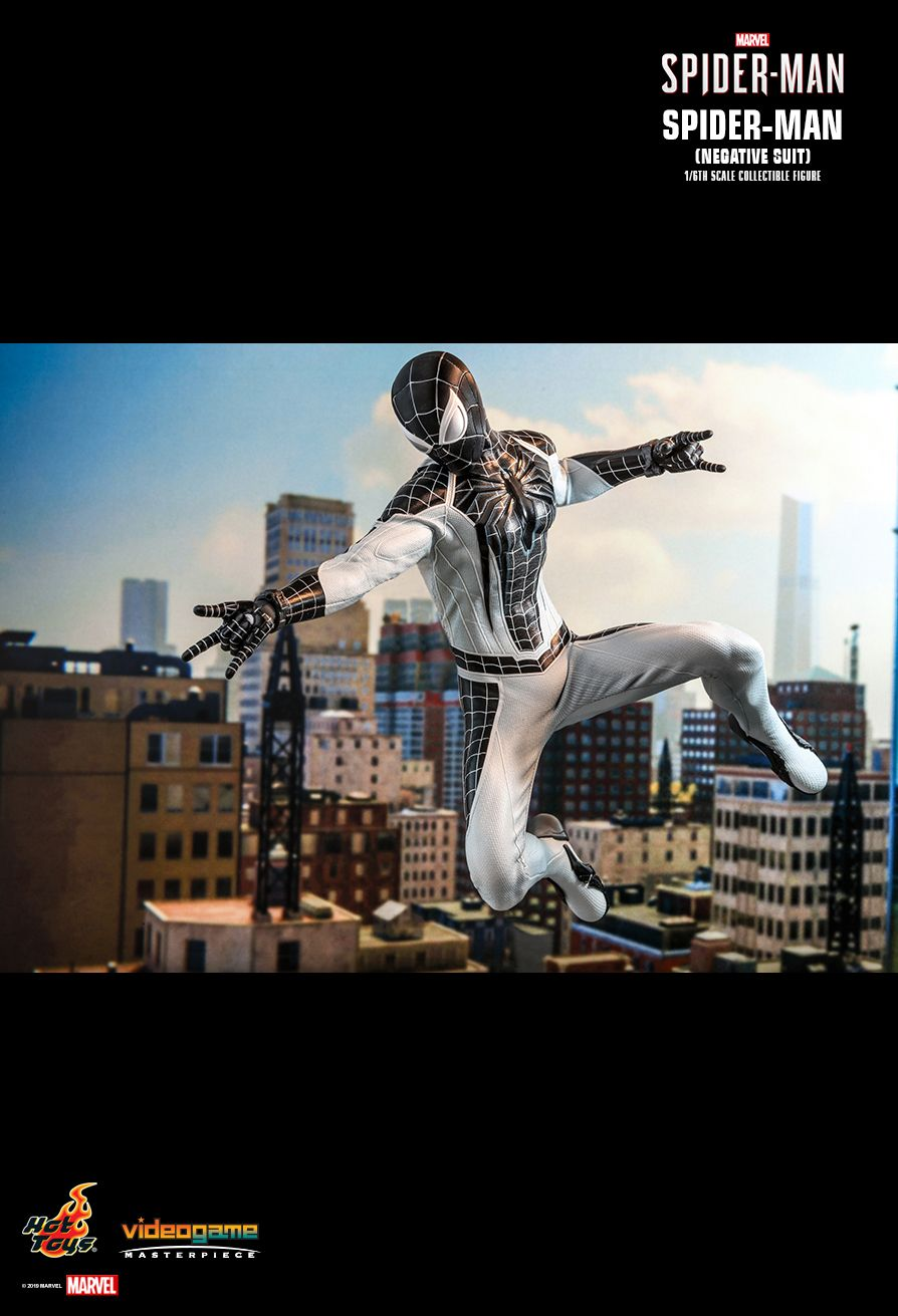 Spider-Man - NEW PRODUCT: HOT TOYS: MARVEL'S SPIDER-MAN SPIDER-MAN (NEGATIVE SUIT) 1/6TH SCALE COLLECTIBLE FIGURE (EXCLUSIVE EDITION) 11202