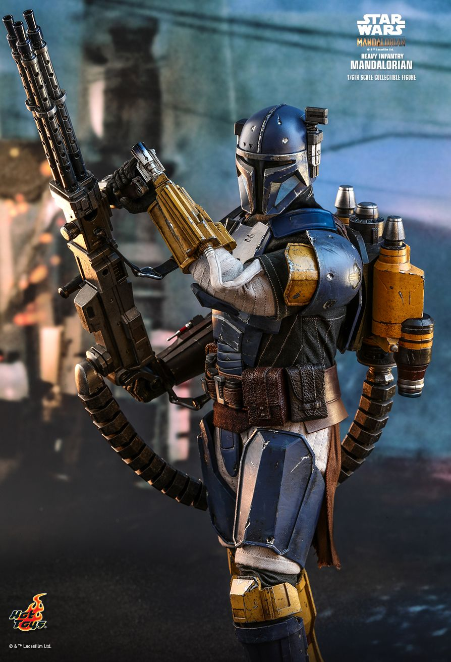 sci-fi - NEW PRODUCT: HOT TOYS: THE MANDALORIAN: HEAVY INFANTRY MANDALORIAN 1/6TH SCALE COLLECTIBLE FIGURE 11208