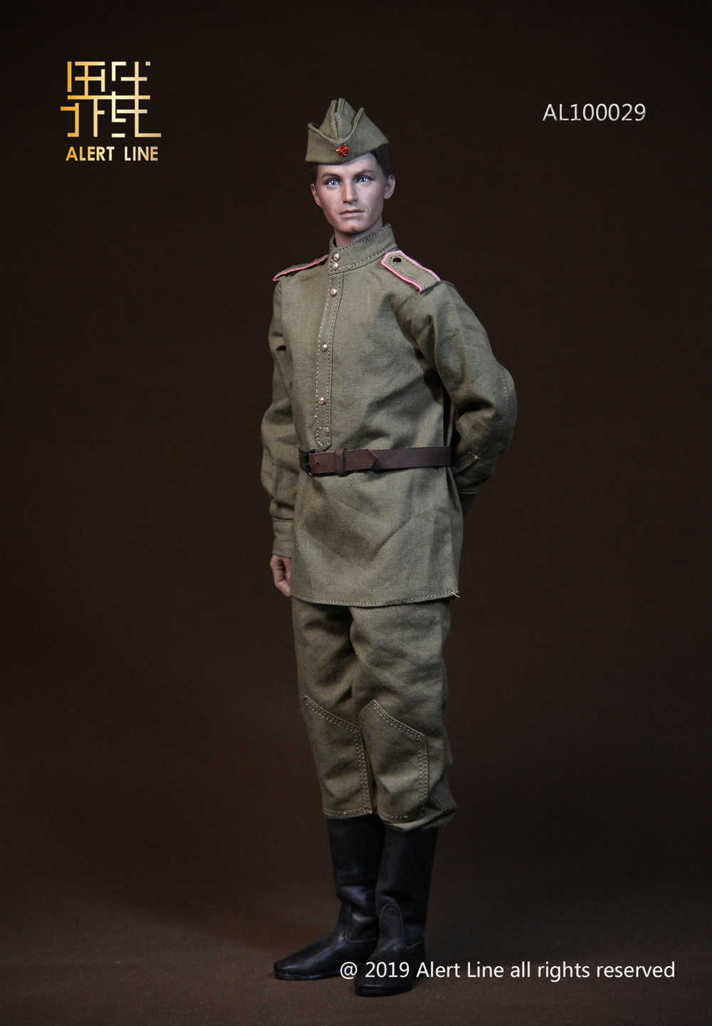 male - NEW PRODUCT: Alert Line: 1/6 WWII World War II Soviet Union - assault engineering action figure AL100029# 11210411