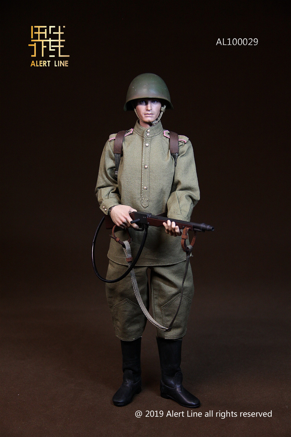 male - NEW PRODUCT: Alert Line: 1/6 WWII World War II Soviet Union - assault engineering action figure AL100029# 11210711