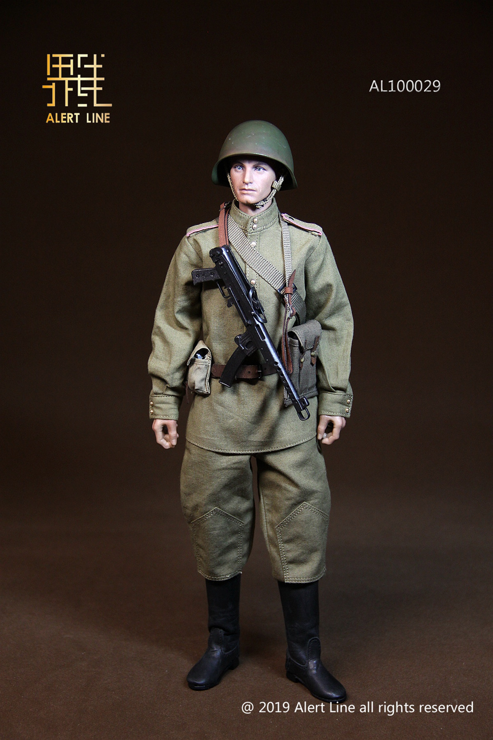 male - NEW PRODUCT: Alert Line: 1/6 WWII World War II Soviet Union - assault engineering action figure AL100029# 11210911