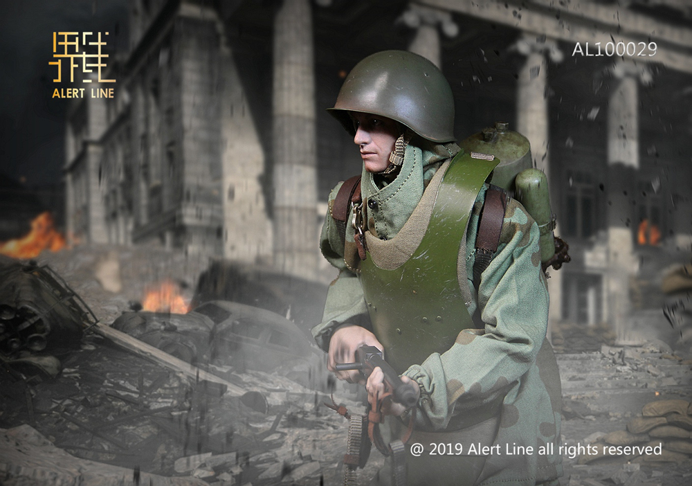 male - NEW PRODUCT: Alert Line: 1/6 WWII World War II Soviet Union - assault engineering action figure AL100029# 11211311