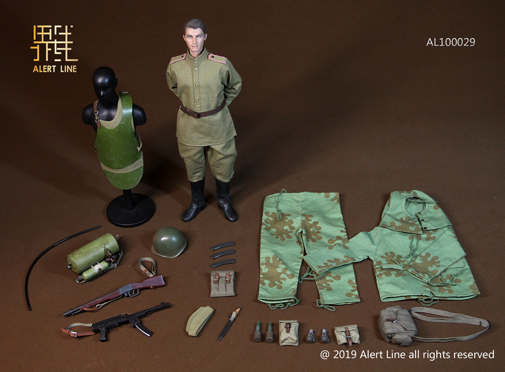 male - NEW PRODUCT: Alert Line: 1/6 WWII World War II Soviet Union - assault engineering action figure AL100029# 11212410
