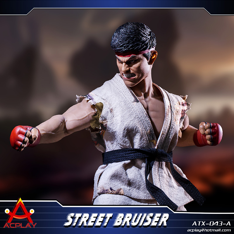 NEW PRODUCT: ACPLAY new products: 1/6 ATX043 Street Fighters practice martial arts A/B suit 11214910