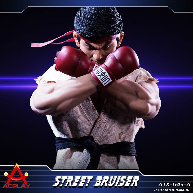 NEW PRODUCT: ACPLAY new products: 1/6 ATX043 Street Fighters practice martial arts A/B suit 11215210