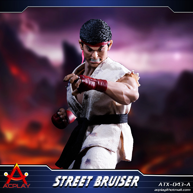NEW PRODUCT: ACPLAY new products: 1/6 ATX043 Street Fighters practice martial arts A/B suit 11215510
