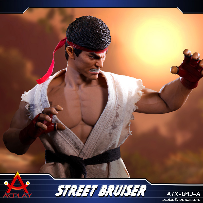 NEW PRODUCT: ACPLAY new products: 1/6 ATX043 Street Fighters practice martial arts A/B suit 11215810
