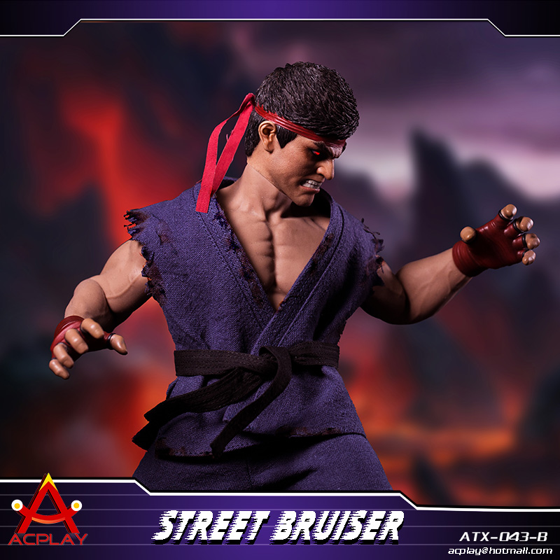 NEW PRODUCT: ACPLAY new products: 1/6 ATX043 Street Fighters practice martial arts A/B suit 11220110