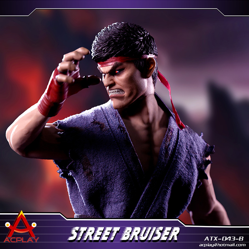NEW PRODUCT: ACPLAY new products: 1/6 ATX043 Street Fighters practice martial arts A/B suit 11220610