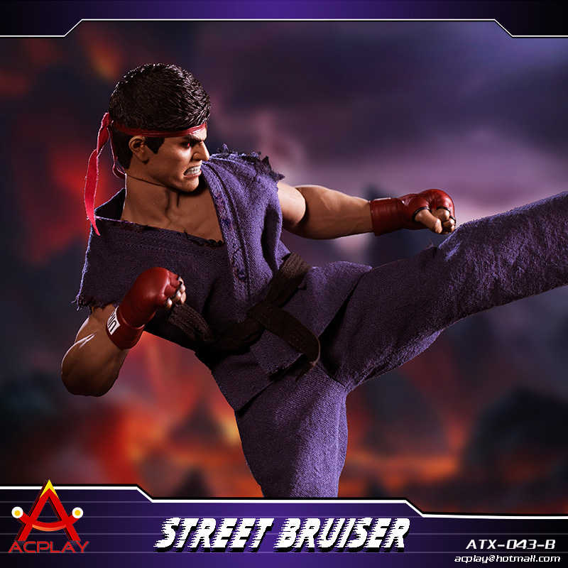 NEW PRODUCT: ACPLAY new products: 1/6 ATX043 Street Fighters practice martial arts A/B suit 11220910