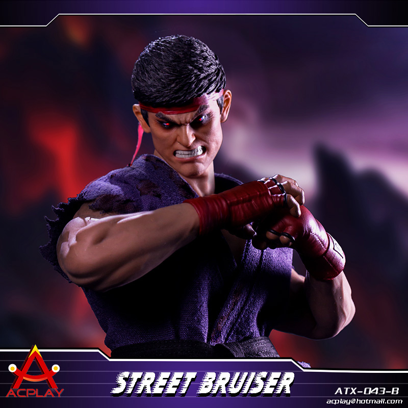 NEW PRODUCT: ACPLAY new products: 1/6 ATX043 Street Fighters practice martial arts A/B suit 11221310