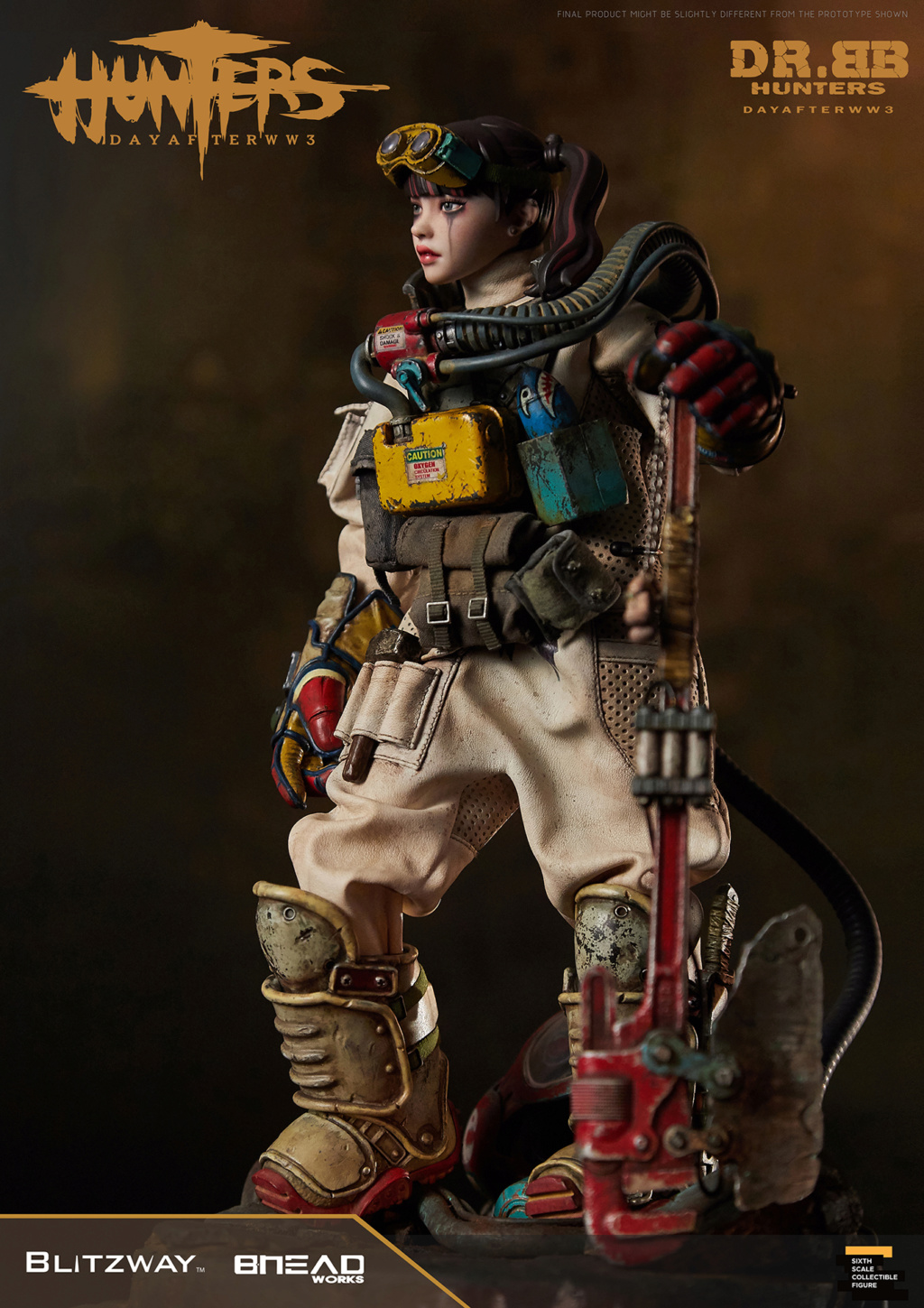 Robot - NEW PRODUCT: Blitzway: 1/6 scale HUNTERS : Day After WWlll: Dr.BB Action Figure 11238