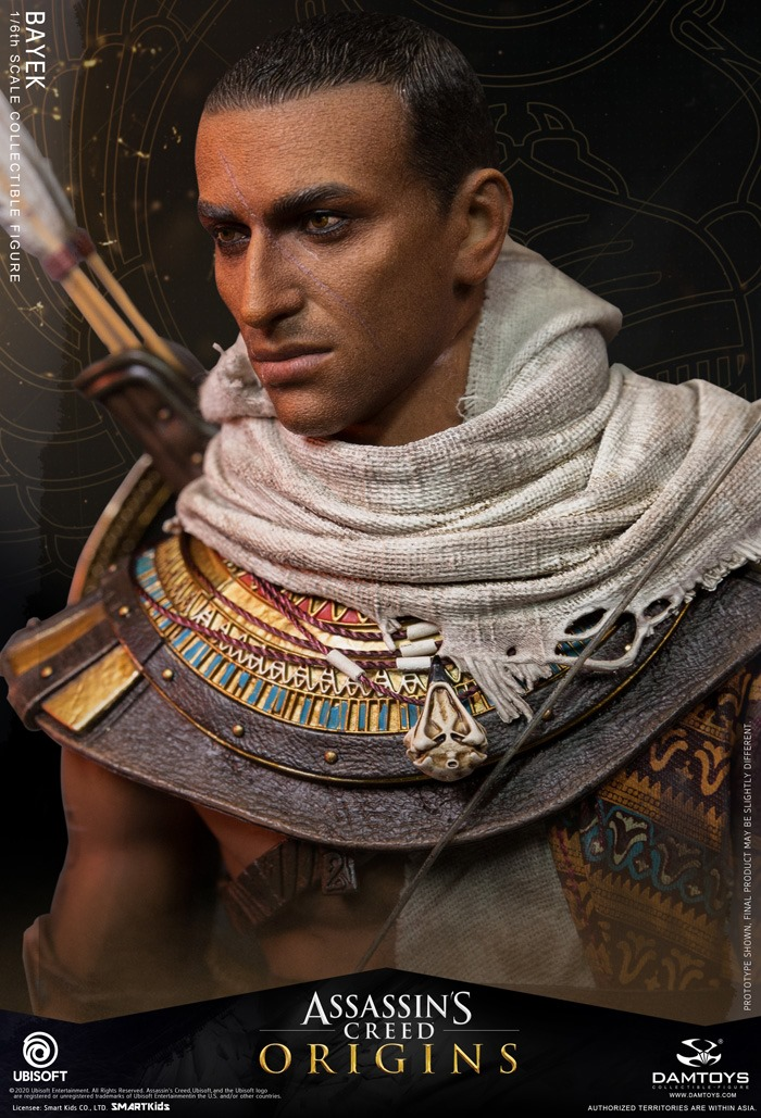 male - NEW PRODUCT: 1/6 DamToys Assassin's Creed Origins - Bayek 1/6 scale figure 11247