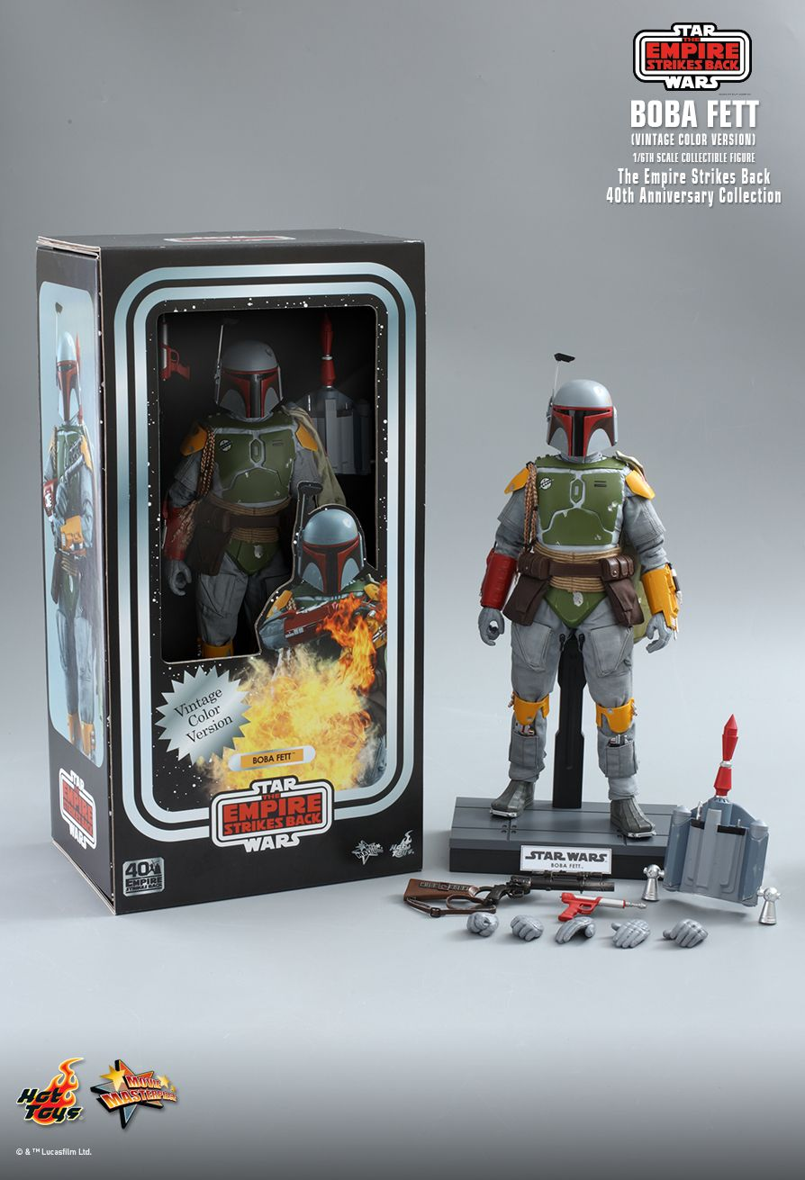 sci-fi - NEW PRODUCT: HOT TOYS: STAR WARS: THE EMPIRE STRIKES BACK™ BOBA FETT™ (VINTAGE COLOR VERSION) (40TH ANNIVERSARY COLLECTION) 1/6TH SCALE COLLECTIBLE FIGURE 11251