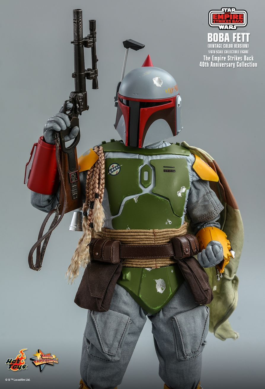 hottoys - NEW PRODUCT: HOT TOYS: STAR WARS: THE EMPIRE STRIKES BACK™ BOBA FETT™ (VINTAGE COLOR VERSION) (40TH ANNIVERSARY COLLECTION) 1/6TH SCALE COLLECTIBLE FIGURE 11252