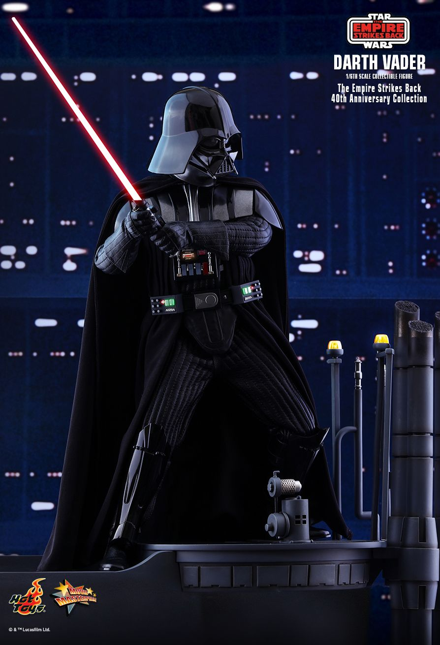 40thAnniversaryCollection - NEW PRODUCT: HOT TOYS: STAR WARS: THE EMPIRE STRIKES BACK™ DARTH VADER™ (40TH ANNIVERSARY COLLECTION) 1/6TH SCALE COLLECTIBLE FIGURE 11254