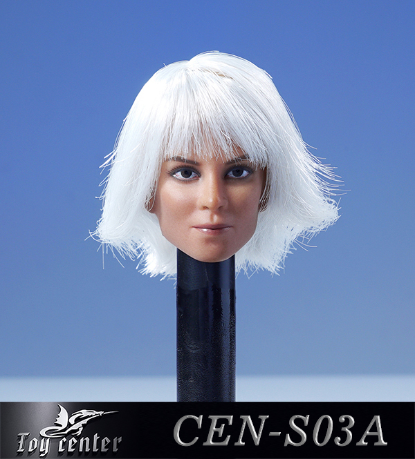 comicbook-based - NEW PRODUCT: Toy Center: 1/6 European and American hair female head carving - two colors CEN-S03 11262010