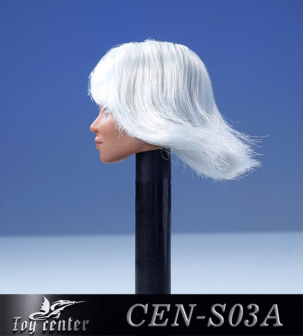 comicbook-based - NEW PRODUCT: Toy Center: 1/6 European and American hair female head carving - two colors CEN-S03 11262110