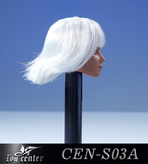 comicbook-based - NEW PRODUCT: Toy Center: 1/6 European and American hair female head carving - two colors CEN-S03 11262211