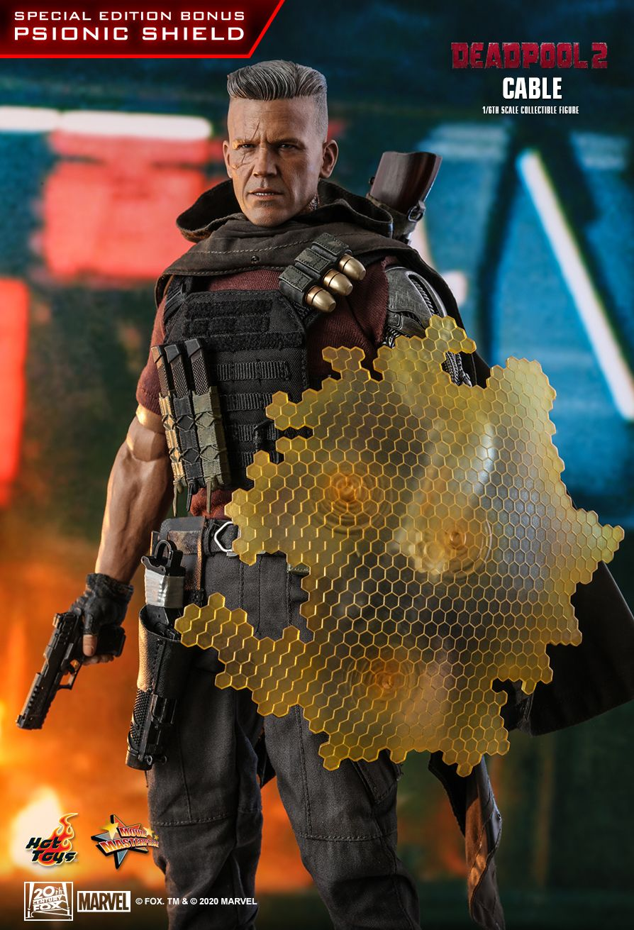 NEW PRODUCT: HOT TOYS: DEADPOOL 2 CABLE 1/6TH SCALE COLLECTIBLE FIGURE 11302