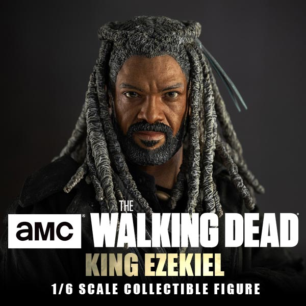 walkingdead - NEW PRODUCT: Threezero: The Walking Dead – 1/6 King Ezekiel 11305
