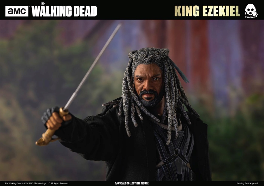 walkingdead - NEW PRODUCT: Threezero: The Walking Dead – 1/6 King Ezekiel 11306