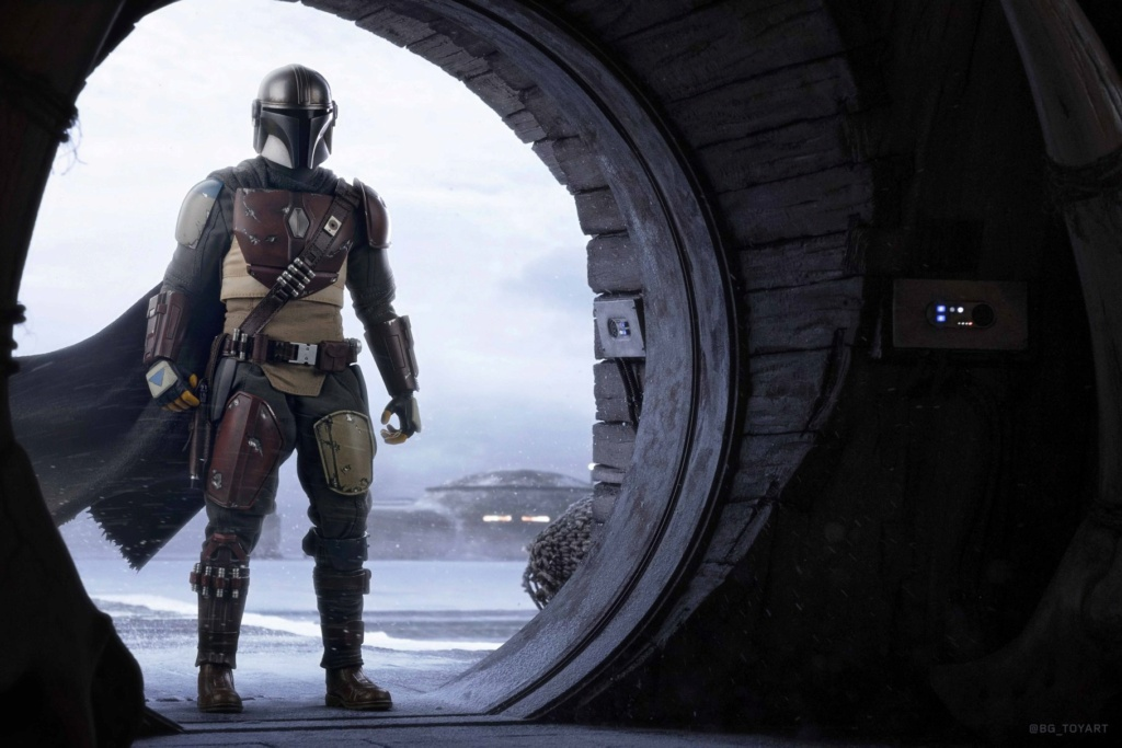 StarWars - NEW PRODUCT: HOT TOYS: THE MANDALORIAN -- THE MANDALORIAN 1/6TH SCALE COLLECTIBLE FIGURE 11315