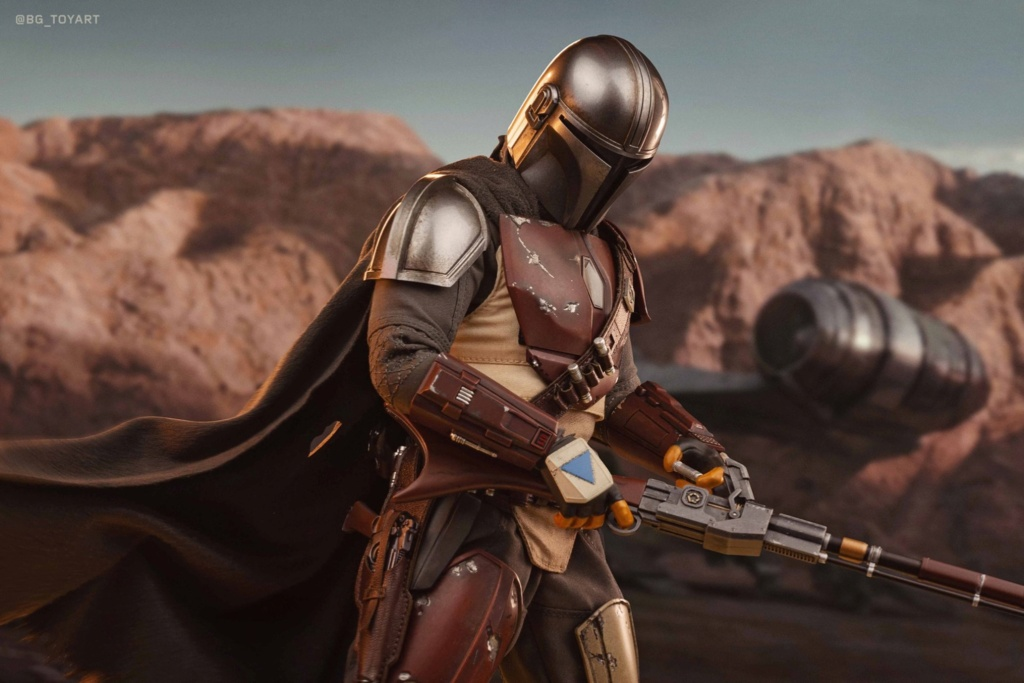 StarWars - NEW PRODUCT: HOT TOYS: THE MANDALORIAN -- THE MANDALORIAN 1/6TH SCALE COLLECTIBLE FIGURE 11316