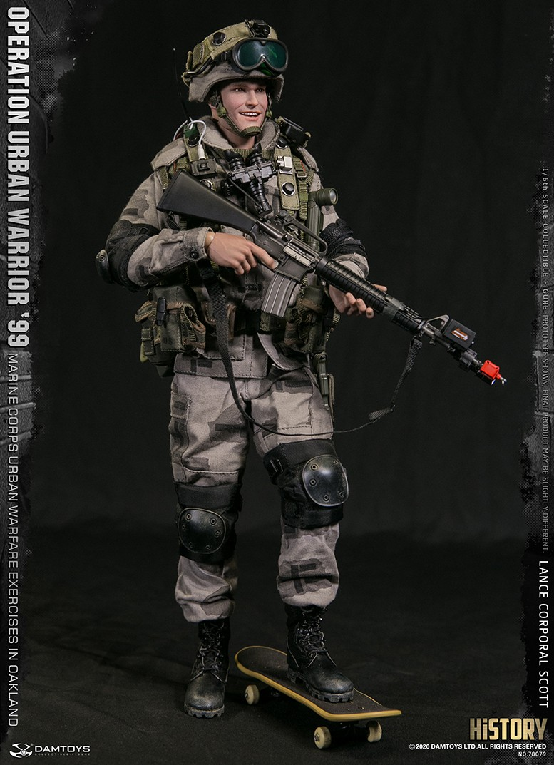MarineCorps - NEW PRODUCT: DAMToys: 1/6 '99 City Warrior Operation-Marine Corps Oakland City Battle Exercise - Lance Corporal Scott #78079 11326