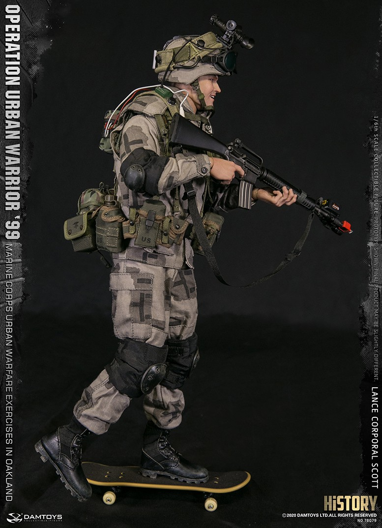 MarineCorps - NEW PRODUCT: DAMToys: 1/6 '99 City Warrior Operation-Marine Corps Oakland City Battle Exercise - Lance Corporal Scott #78079 11327