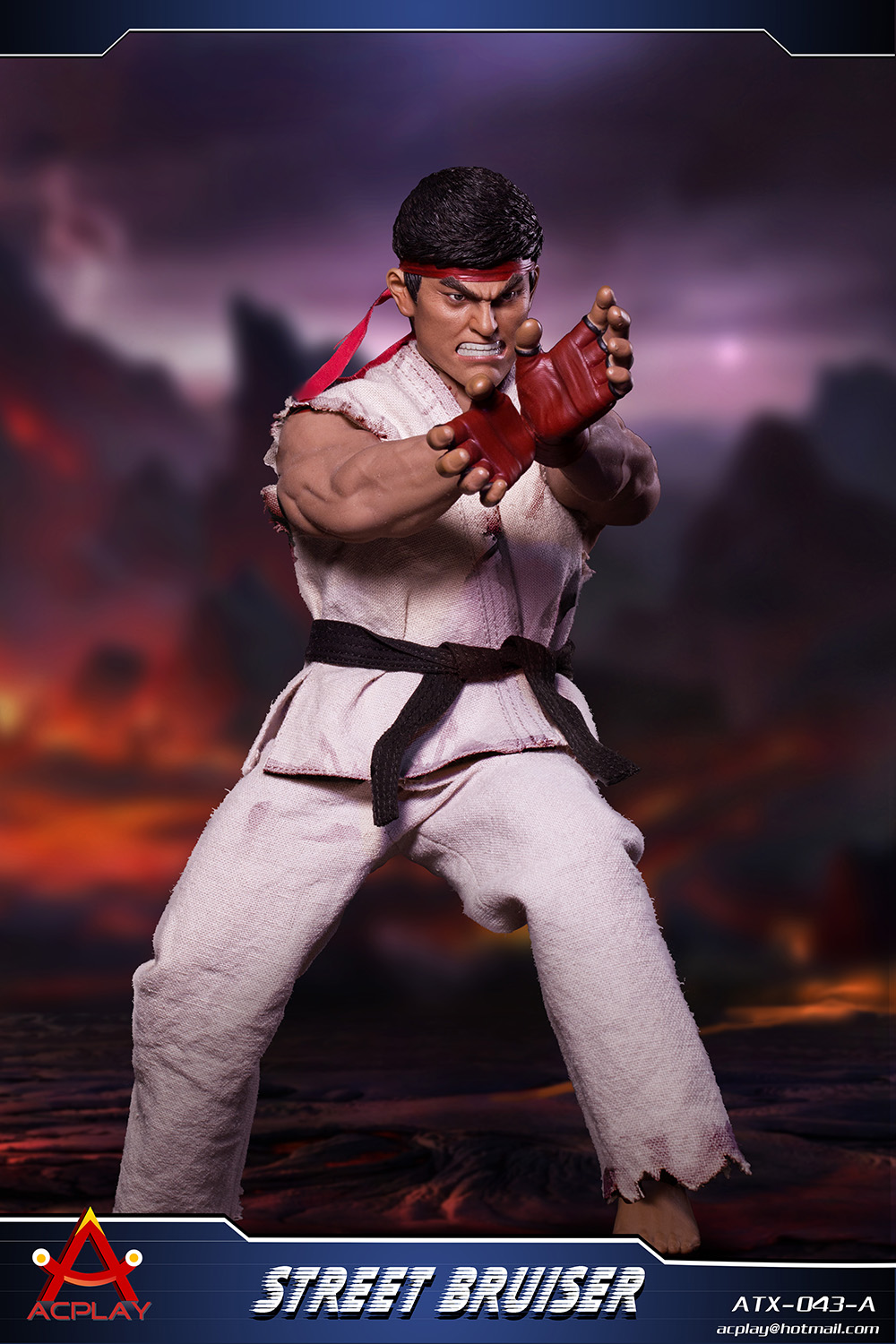 NEW PRODUCT: ACPLAY new products: 1/6 ATX043 Street Fighters practice martial arts A/B suit 11342210