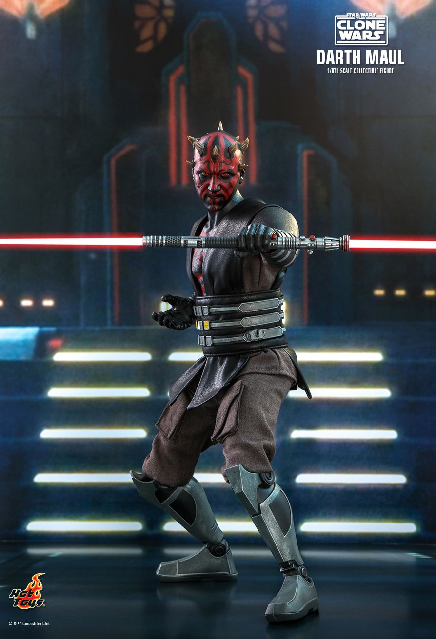 Sci-Fi - NEW PRODUCT: HOT TOYS: STAR WARS: THE CLONE WARS™ DARTH MAUL™ 1/6TH SCALE COLLECTIBLE FIGURE 11350