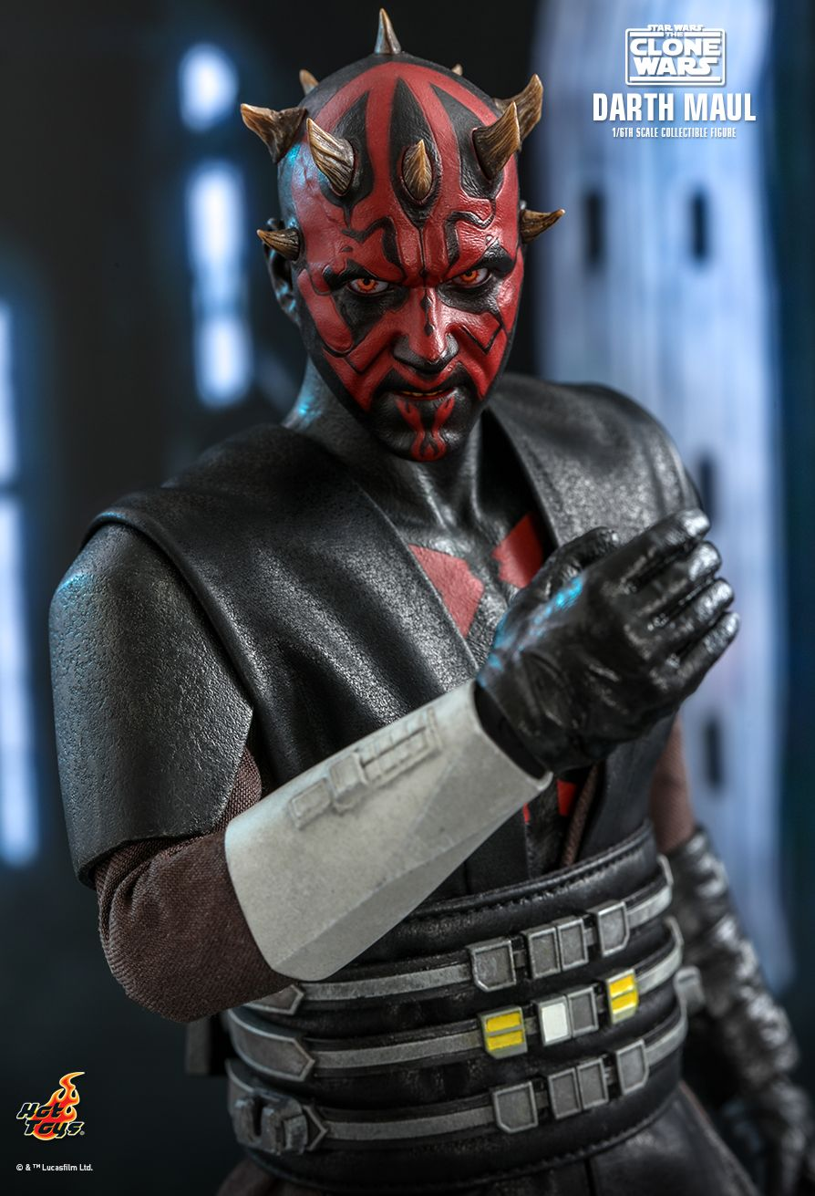 Sci-Fi - NEW PRODUCT: HOT TOYS: STAR WARS: THE CLONE WARS™ DARTH MAUL™ 1/6TH SCALE COLLECTIBLE FIGURE 11351