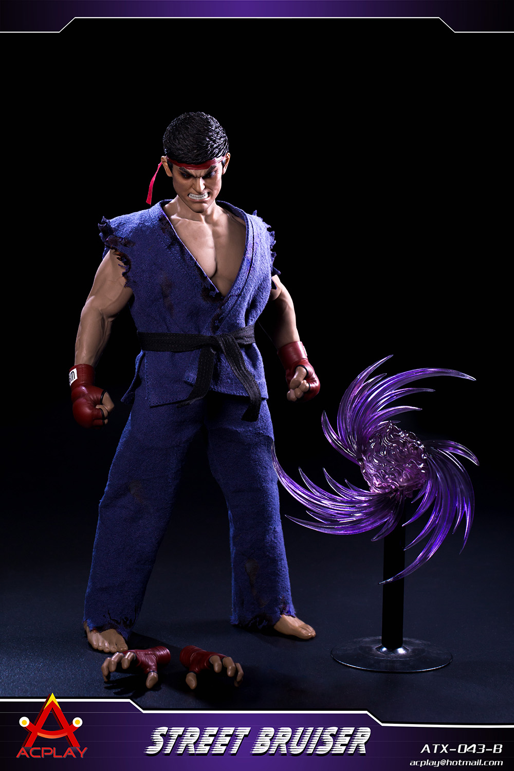 NEW PRODUCT: ACPLAY new products: 1/6 ATX043 Street Fighters practice martial arts A/B suit 11351110