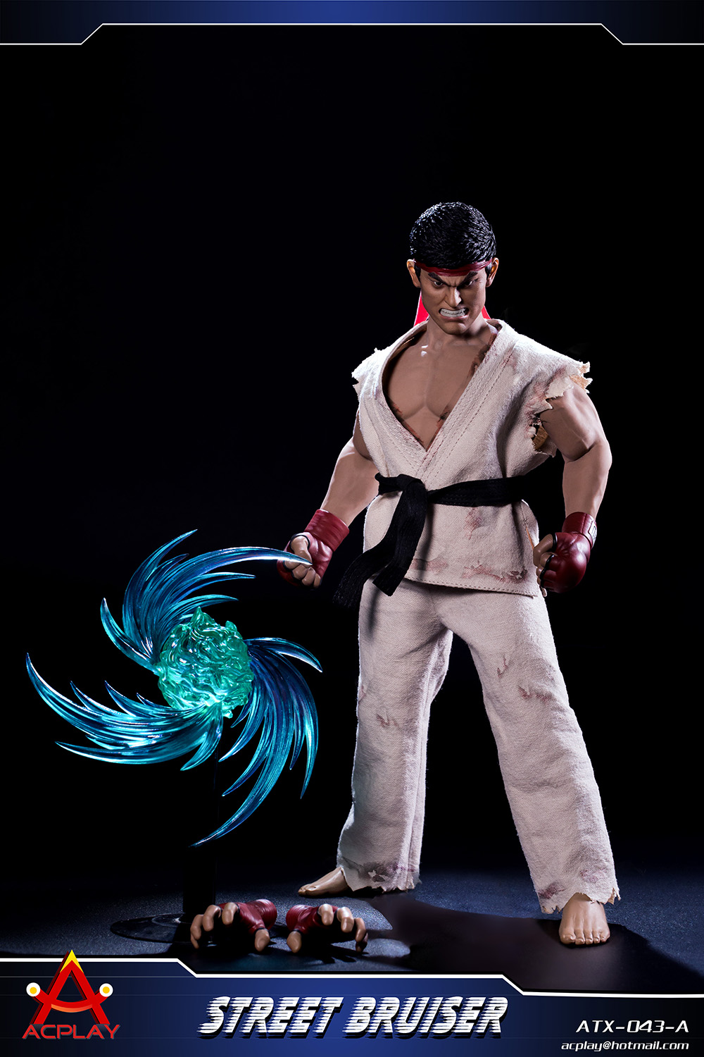 NEW PRODUCT: ACPLAY new products: 1/6 ATX043 Street Fighters practice martial arts A/B suit 11353210