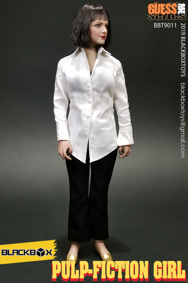 NEW PRODUCT: BLACKBOX: 1/6 Scale Guess Me Series - Pulpfiction Girl (#BBT9011) 11361310