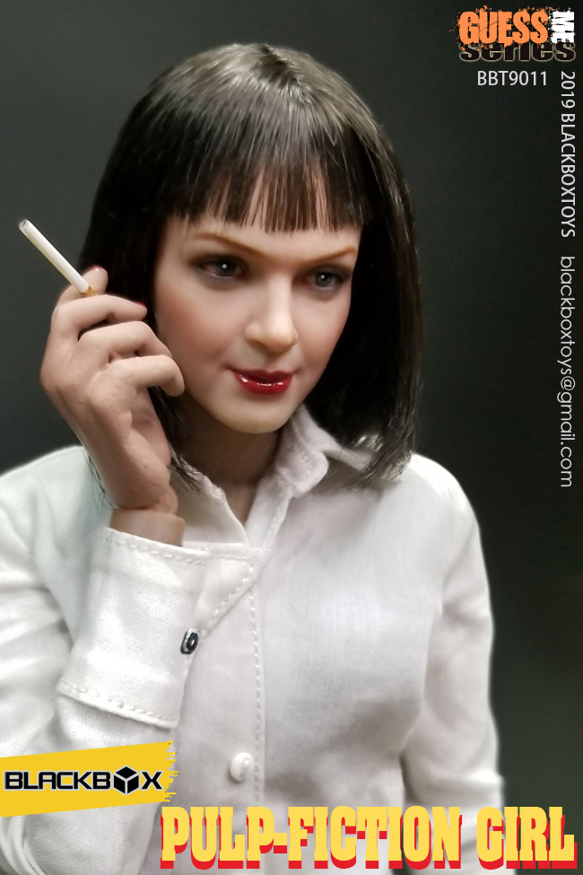 NEW PRODUCT: BLACKBOX: 1/6 Scale Guess Me Series - Pulpfiction Girl (#BBT9011) 11361710