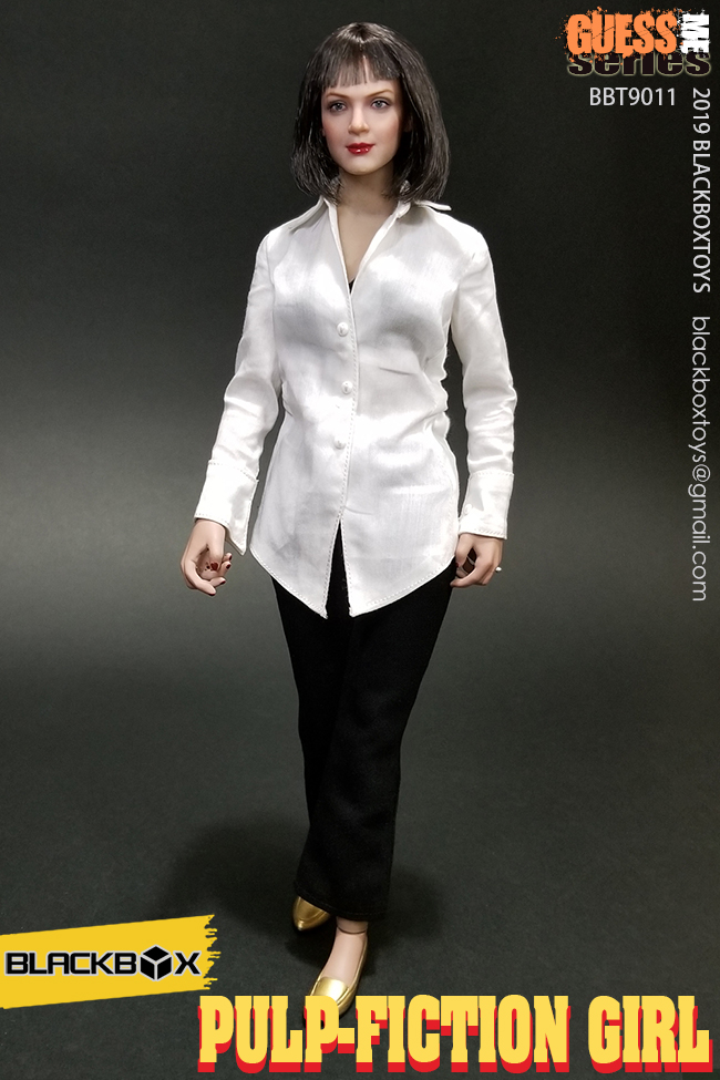 NEW PRODUCT: BLACKBOX: 1/6 Scale Guess Me Series - Pulpfiction Girl (#BBT9011) 11362010