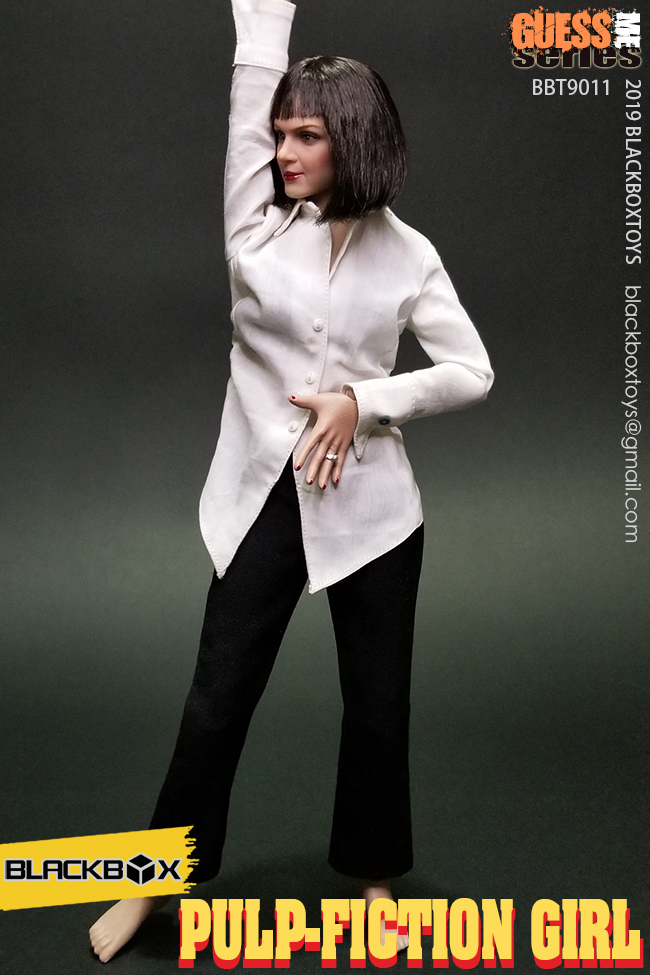 NEW PRODUCT: BLACKBOX: 1/6 Scale Guess Me Series - Pulpfiction Girl (#BBT9011) 11362210