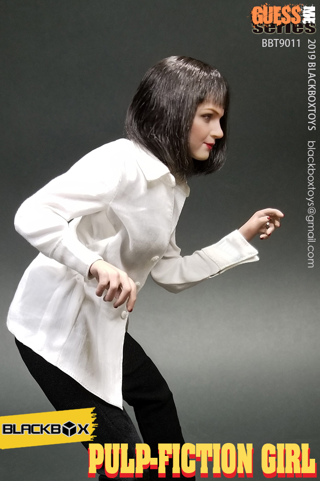 NEW PRODUCT: BLACKBOX: 1/6 Scale Guess Me Series - Pulpfiction Girl (#BBT9011) 11362310