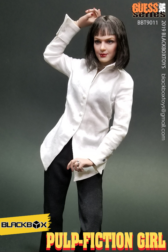 NEW PRODUCT: BLACKBOX: 1/6 Scale Guess Me Series - Pulpfiction Girl (#BBT9011) 11362610