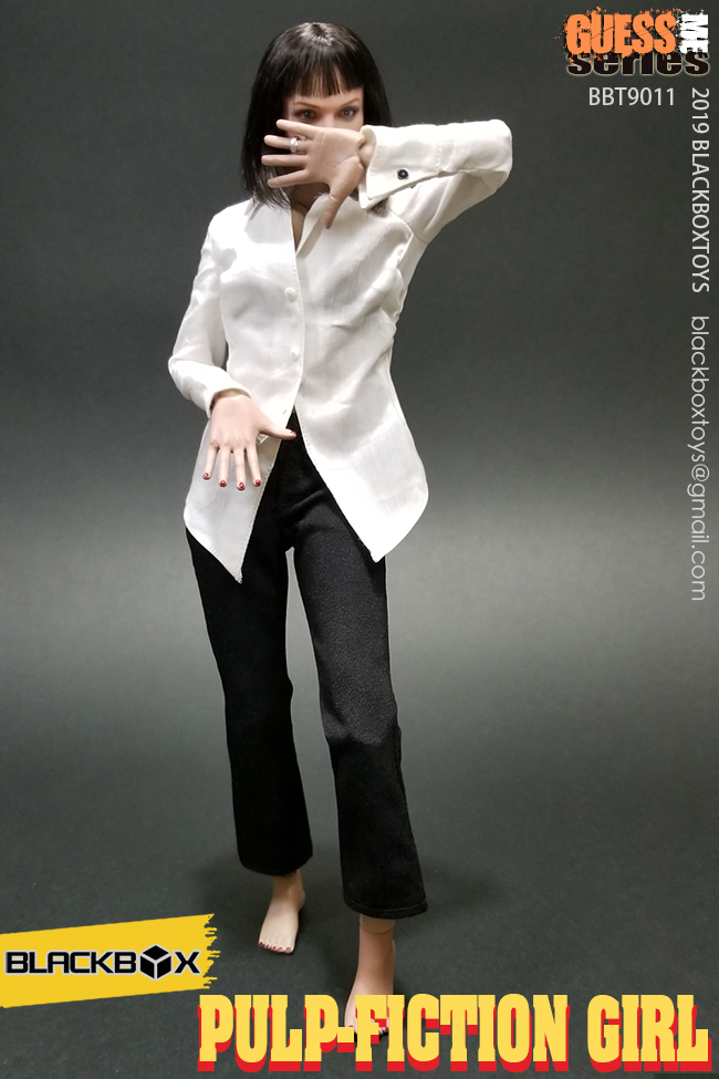 NEW PRODUCT: BLACKBOX: 1/6 Scale Guess Me Series - Pulpfiction Girl (#BBT9011) 11362710