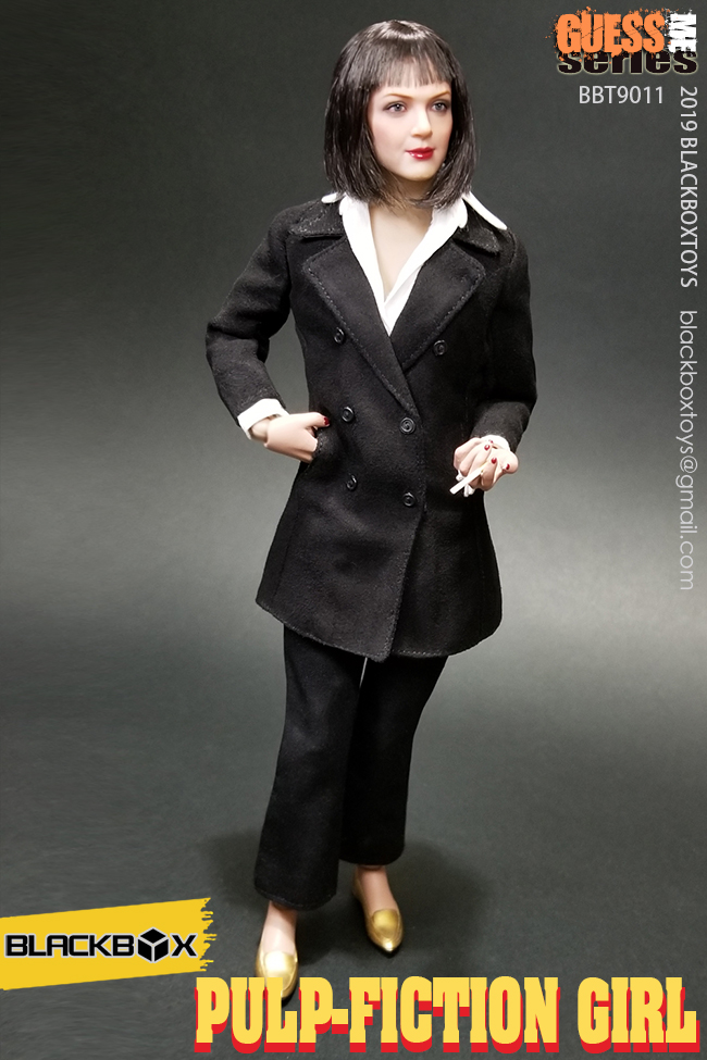 NEW PRODUCT: BLACKBOX: 1/6 Scale Guess Me Series - Pulpfiction Girl (#BBT9011) 11363610