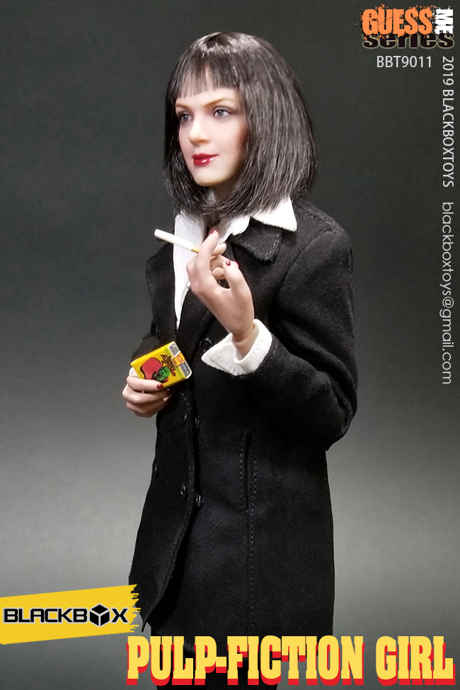 NEW PRODUCT: BLACKBOX: 1/6 Scale Guess Me Series - Pulpfiction Girl (#BBT9011) 11363810