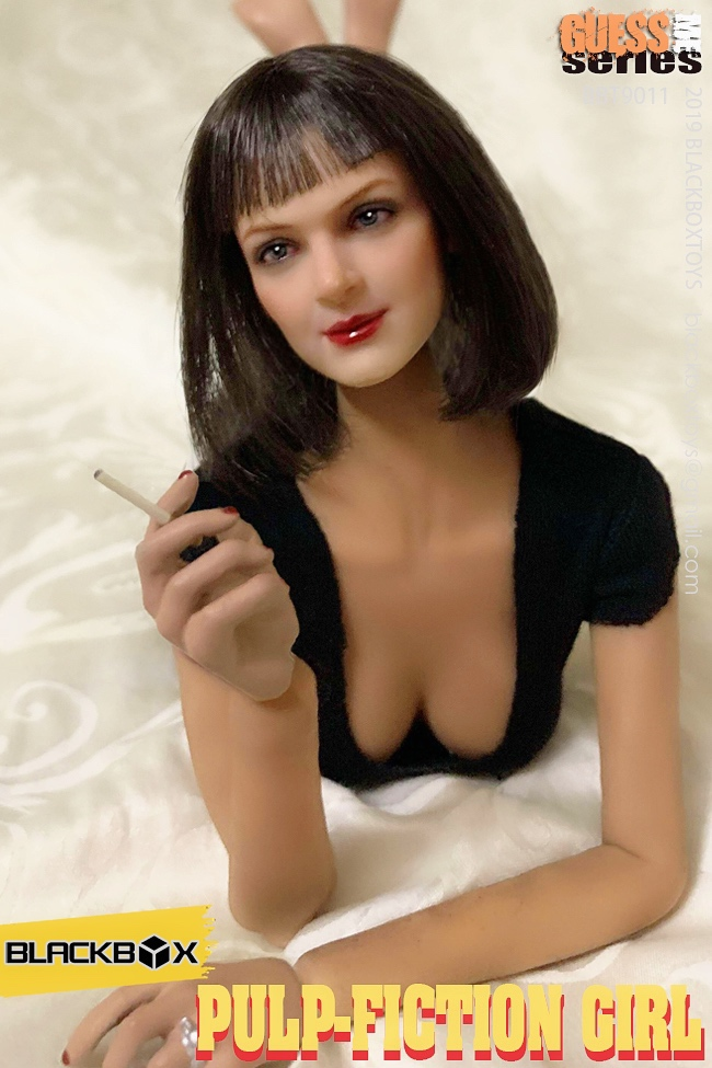 NEW PRODUCT: BLACKBOX: 1/6 Scale Guess Me Series - Pulpfiction Girl (#BBT9011) 11363910