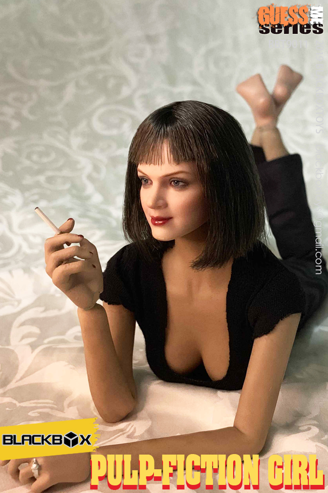 NEW PRODUCT: BLACKBOX: 1/6 Scale Guess Me Series - Pulpfiction Girl (#BBT9011) 11364010