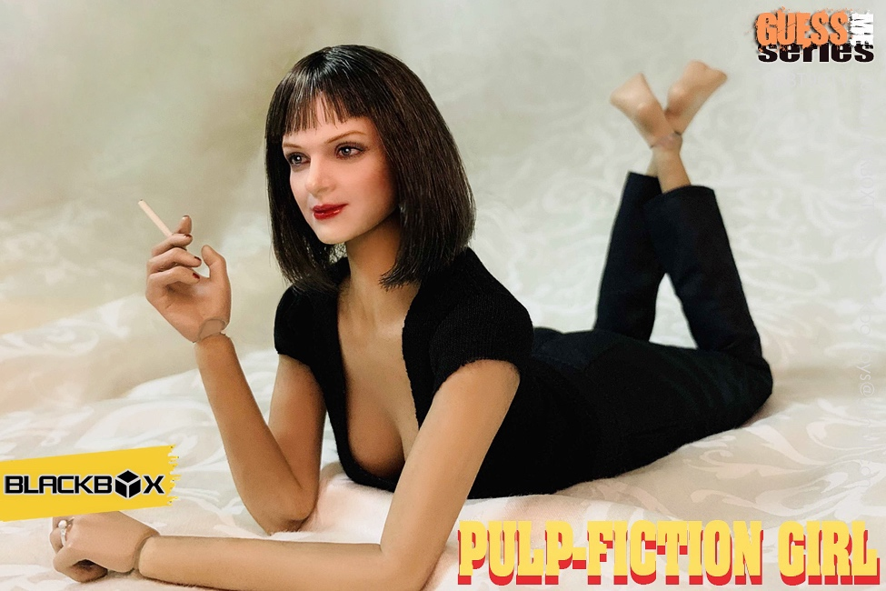 NEW PRODUCT: BLACKBOX: 1/6 Scale Guess Me Series - Pulpfiction Girl (#BBT9011) 11364110