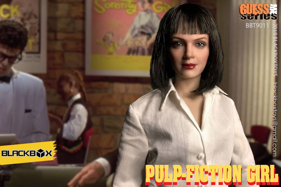 NEW PRODUCT: BLACKBOX: 1/6 Scale Guess Me Series - Pulpfiction Girl (#BBT9011) 11364210